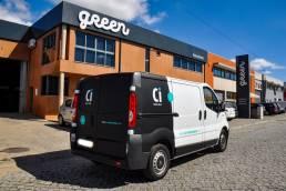 Green by Publiminho - Publicidade - Decoração Viaturas Ci Decor